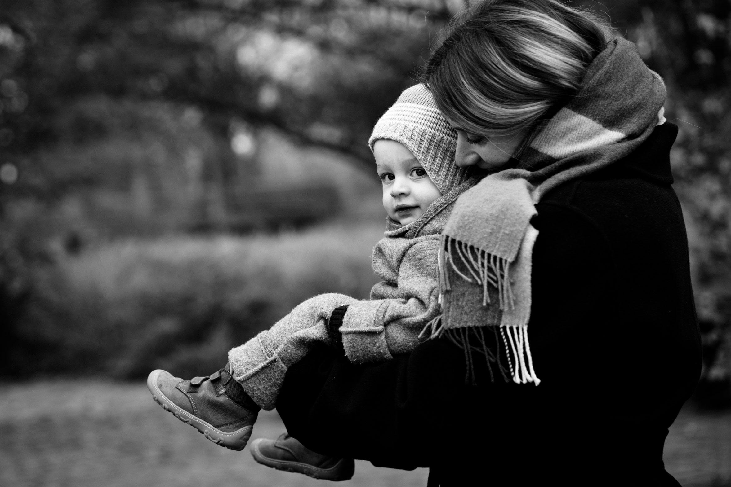 Familienreportage Mama und Sohn